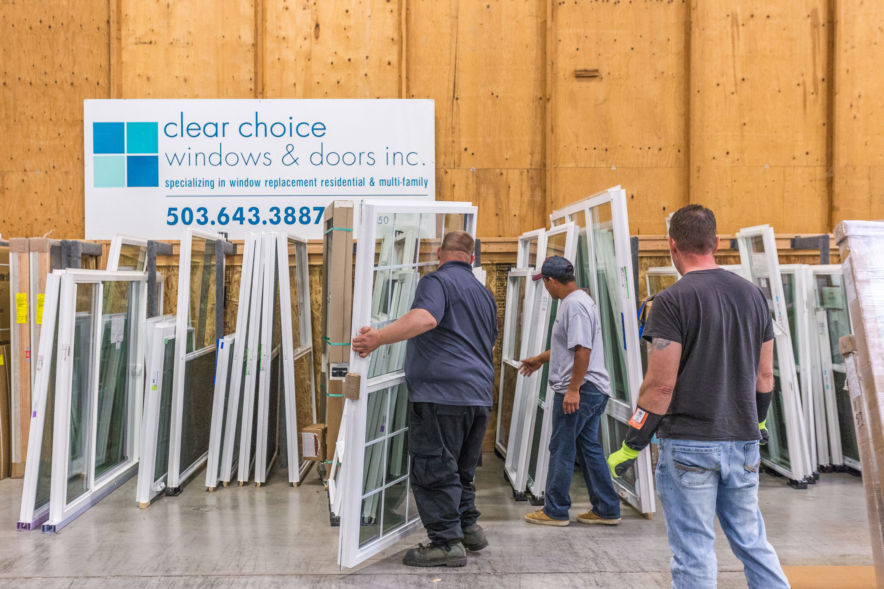 clear choice windows and doors showroom portland oregon
